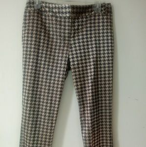 THE LIMITED PANTS PLAID  SIZE 6